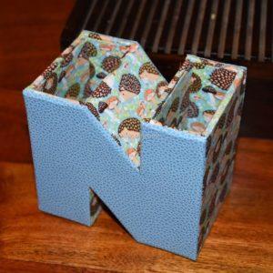 Pot à crayons Alphabet 26-Elisabeth M