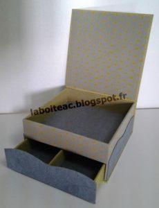 Boite tiroir secret 129-Catherine S