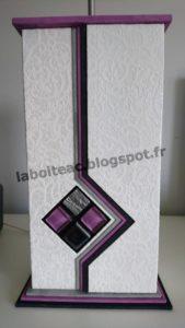 Lampe mosaïque 55-Catherine S